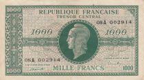 France 1000 Francs Marian - 1945 - Serial 08 A