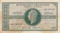 France 1000 Francs Marian - Central Treasury 1945 - Serial 47E - VF