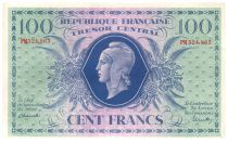 France 1000 Francs Marianne - 1943 - Serial PM 524.865 - XF+