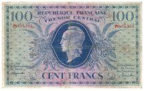 France 1000 Francs Marianne - 1943 - Serial PN 655.382 - Fine