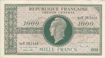 France 1000 Francs Marianne - 1945 Letter E- Serial 29 E - XF