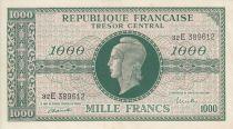 France 1000 Francs Marianne - 1945 Letter E- Serial 32 E -  XF+