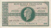 France 1000 Francs Marianne - 1945 Letter E- Serial 59 E -  VF+