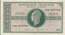France 1000 Francs Marianne - 1945 Lettre A - Série 15 A - TTB+