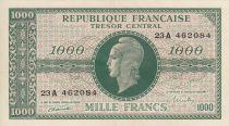 France 1000 Francs Marianne - 1945 Lettre A - Série 23 A 462084
