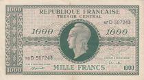 France 1000 Francs Marianne - 1945 Lettre D - Série 85 D