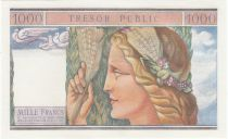France 1000 Francs Mercure, Trésor Public - 1955 - Epreuve Spécimen