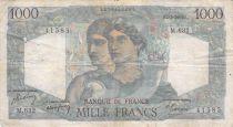 France 1000 Francs Minerva and Hercules - 02-03-1950 Serial M.632 - F