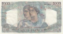 France 1000 Francs Minerva and Hercules - 09-01-1947 - XF to AU