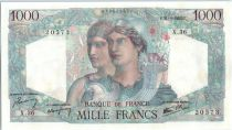 France 1000 Francs Minerva and Hercules - 1945  - X 36