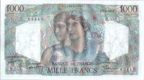 France 1000 Francs Minerva and Hercules - 1949 - R 555