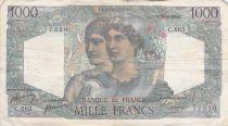 France 1000 Francs Minerva and Hercules - 29-06-1950 Serial C.665 - F