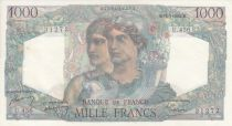 France 1000 Francs Minerve and Hercule -  03/10/1946  - Serial X.358
