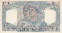 France 1000 Francs Minerve and Hercule -  03/10/1946  - Série W.348