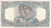 France 1000 Francs Minerve and Hercule - 26/04/1945 - Serial D.14