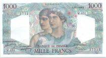 France 1000 Francs Minerve et Hercule -  15/07/1948 - Série M.451
