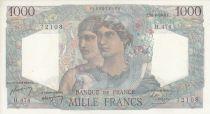 France 1000 Francs Minerve et Hercule -  26/08/1948- Série H.474 - 72108
