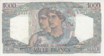 France 1000 Francs Minerve et Hercule -  30/06/1949 - Série E. 580