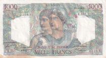 France 1000 Francs Minerve et Hercule - 01-09-1949 - Série K.590- TTB