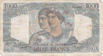 France 1000 Francs Minerve et Hercule - 01-09-1949 Série G.591 - PTB