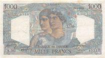 France 1000 Francs Minerve et Hercule - 01-09-1949 Série H.582 - TTB