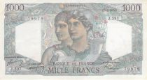 France 1000 Francs Minerve et Hercule - 01-09-1949 Série J.597 - PSUP