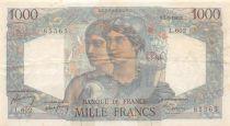 France 1000 Francs Minerve et Hercule - 01-09-1949 Série L.602 - TB