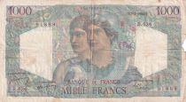 France 1000 Francs Minerve et Hercule - 02-03-1950 - Série B.636 - B+