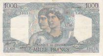 France 1000 Francs Minerve et Hercule - 02-03-1950 Série Y.636 - PTTB