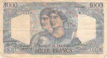 France 1000 Francs Minerve et Hercule - 02-12-1948 Série W.511 - PTB
