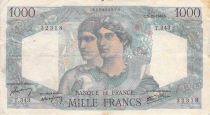 France 1000 Francs Minerve et Hercule - 03-10-1946 Série T.343 - TB