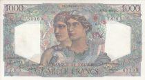 France 1000 Francs Minerve et Hercule - 03/11/1949 - Série F.616