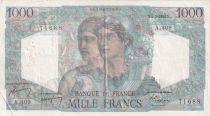 France 1000 Francs Minerve et Hercule - 05-05-1948 - Série A.409 - TTB