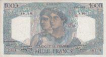 France 1000 Francs Minerve et Hercule - 05/05/1948 - Série Z.404