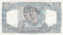 France 1000 Francs Minerve et Hercule - 05-05-1948 Série D.418 - TTB+