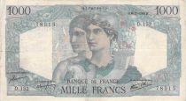 France 1000 Francs Minerve et Hercule - 06-12-1945 Série D.152 - PTTB