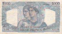 France 1000 Francs Minerve et Hercule - 07-03-1946 Série G.230 - TTB