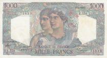 France 1000 Francs Minerve et Hercule - 07/04/1949 - Série E.558