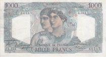 France 1000 Francs Minerve et Hercule - 07-04-1949 Série A.544 - TTB