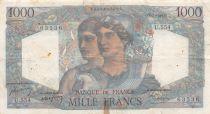 France 1000 Francs Minerve et Hercule - 07-04-1949 Série U.554 - TB
