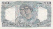 France 1000 Francs Minerve et Hercule - 09-01-1947 Série B.372 - TTB+