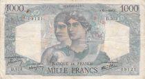 France 1000 Francs Minerve et Hercule - 12-09-1946 Série D.313 - TB+