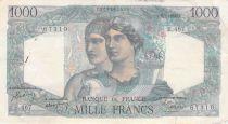 France 1000 Francs Minerve et Hercule - 15-07-1948 Série B.467 - PTTB