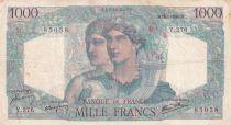 France 1000 Francs Minerve et Hercule - 16-05-1946 - Série Y.276 - TTB