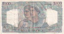 France 1000 Francs Minerve et Hercule - 16-05-1946 - Série Z.285 - TB
