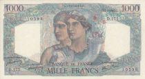 France 1000 Francs Minerve et Hercule - 17/01/1946 - Série D.175