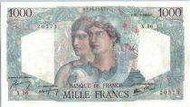 France 1000 Francs Minerve et Hercule - 1945  - X 36