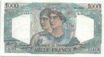 France 1000 Francs Minerve et Hercule - 1947