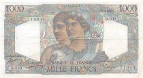 France 1000 Francs Minerve et Hercule - 20-04-1950 Série B.639 - TTB+