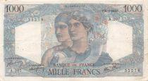 France 1000 Francs Minerve et Hercule - 21-02-1946 Série A.207 - PTTB